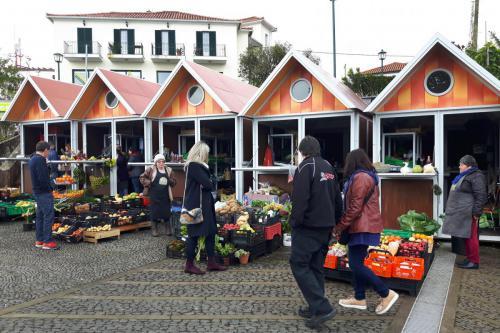 Markt in Santana