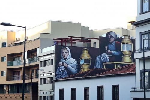 Nog een laatste muurschildering