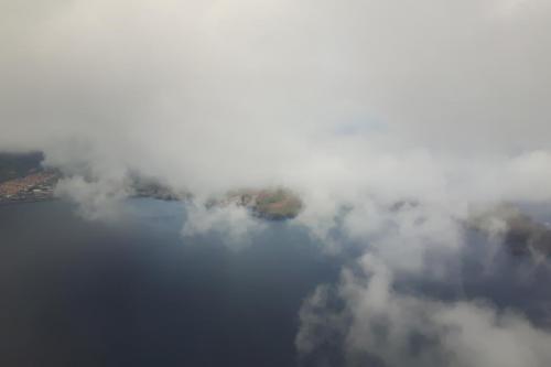 De laatste glimp van het schierland Sao Lourenco