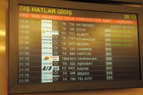Wachten op Istanbul