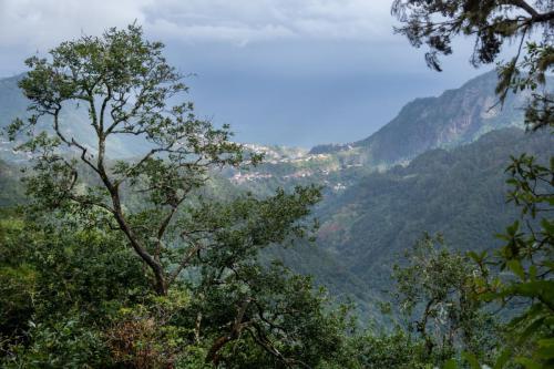 Uitzicht vanaf de Levada do Furado