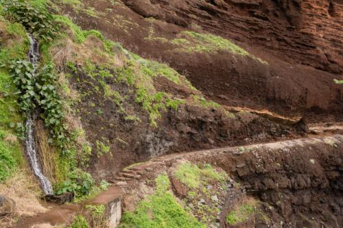 Het pad naar Ponta de Sao Jorge