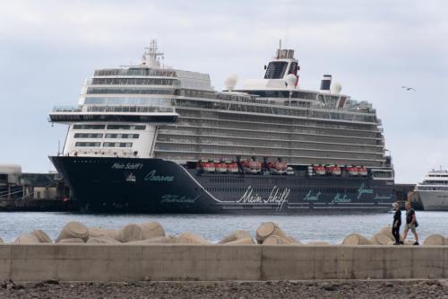 Cruiseschepen in de haven van Funchal