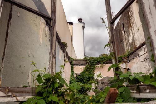 Verlaten huizen in Funchal