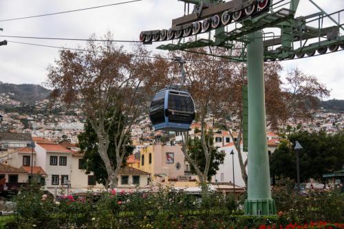 De kabelbaan naar Monte
